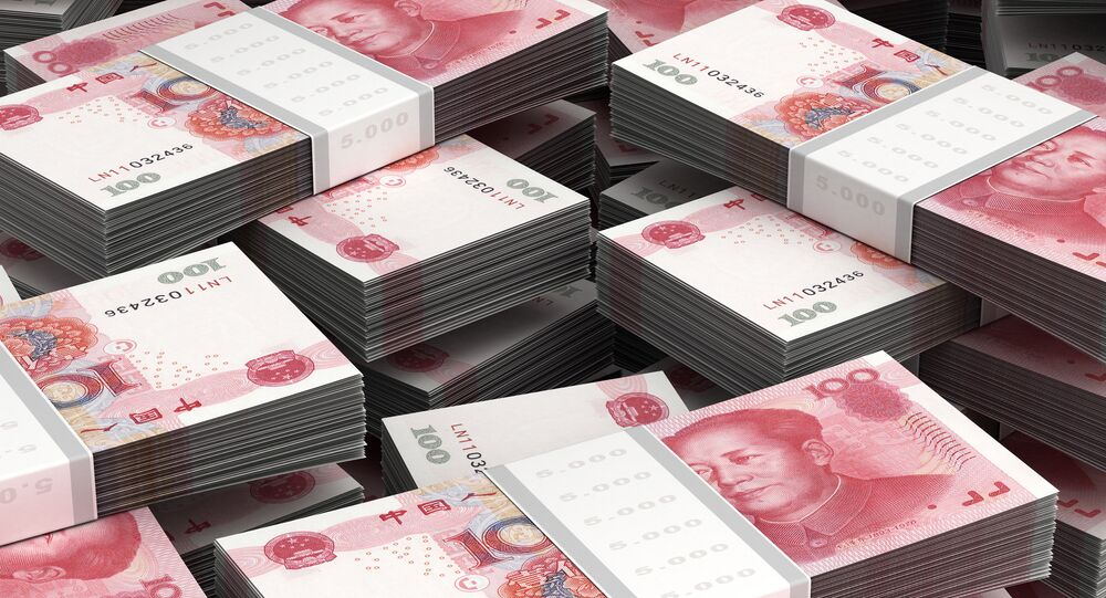Chinese national currency yuan