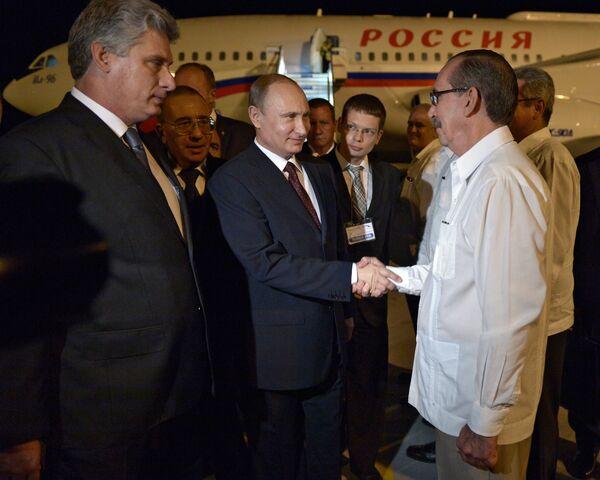 Vladimir Putin's official visit to Cuba - Sputnik International