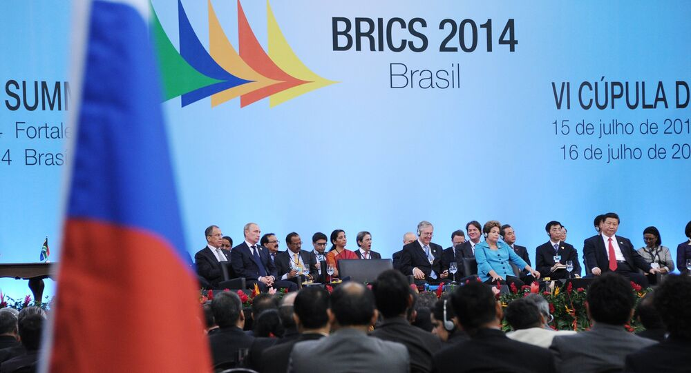 During the 2014 BRICS summit in the Brazilian city of Fortaleza, Russian President Vladimir Putin said that Moscow prepared a draft BRICS Strategy for Multilateral Economic Cooperation.