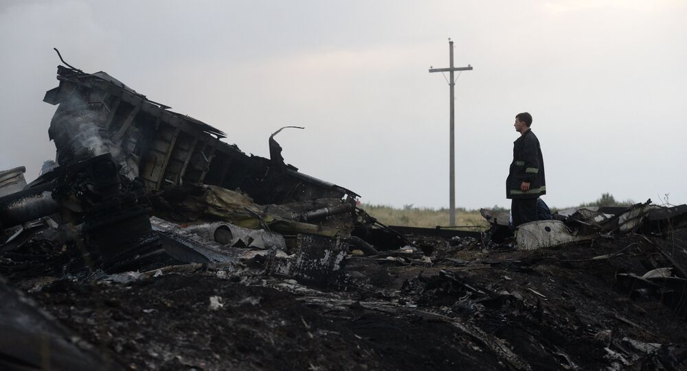 The US prefers to conceal the truth about the crash of Malaysia Airlines Flight 17, since it could undermine Washington's narrative and ultimately obliterate its the Russia-did-it scenario, says a US journalist.