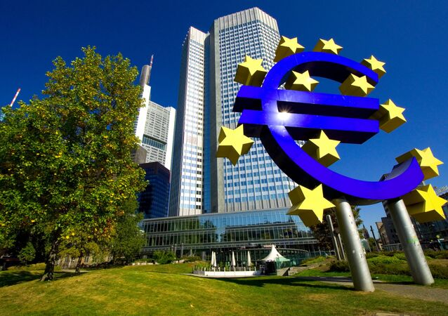 European Central Bank, Frankfurt, Germany.