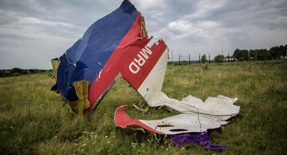 Crash site of Malaysian Boeing 777 in Ukraine
