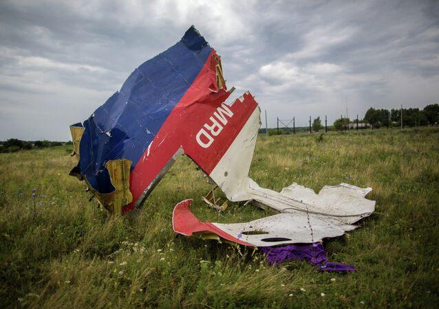 Crash site of Malaysian Boeing 777 in Ukraine