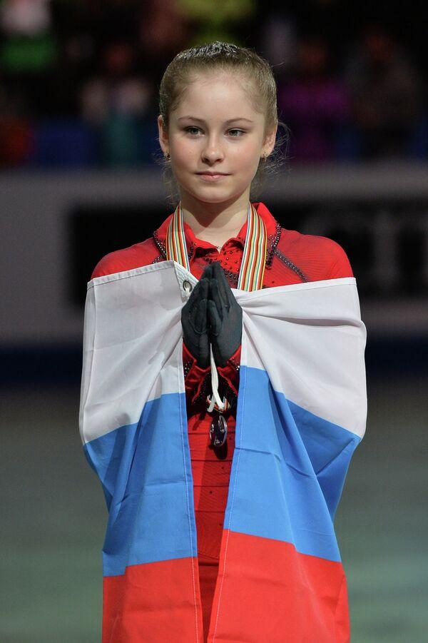 Russian Olympic champion Julia Lipnitskaia - Sputnik International