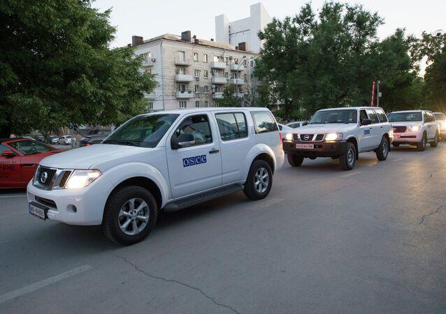 OSCE mission arrives in Rostov-on-Don