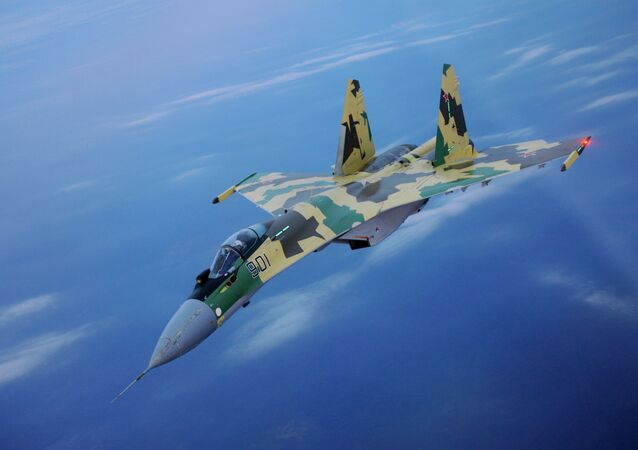 The Sukhoi Su-35S, Russia's new super-maneuverable multirole fighter jet