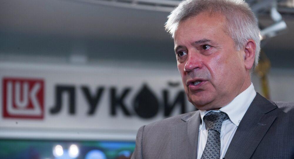 LUKoil president Vagit Alekperov