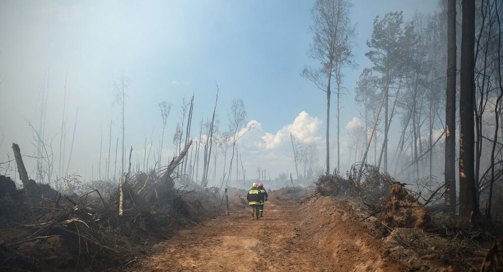 Over 400 people, six aircraft and almost 50 units of equipment are involved in firefighting efforts in the Russian Far East.
