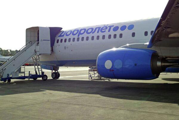 Boeing 737-800NG of  Dobrolet Airlines - Sputnik International