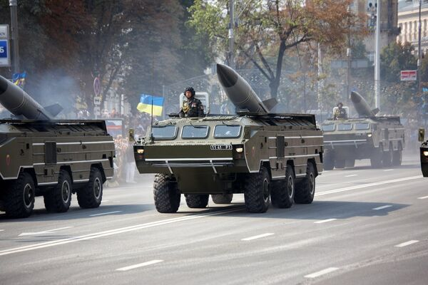 On Sunday, Kiev-led forces allegedly attacked Luhansk with Tochka-U ballistic missile systems. - Sputnik International
