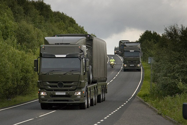 Nuclear Weapons Convoy - Sputnik International
