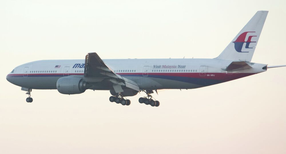 Malaysia Airlines Boeing