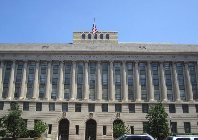 The building of the US Department of Agriculture (USDA)., Washington, D.C.