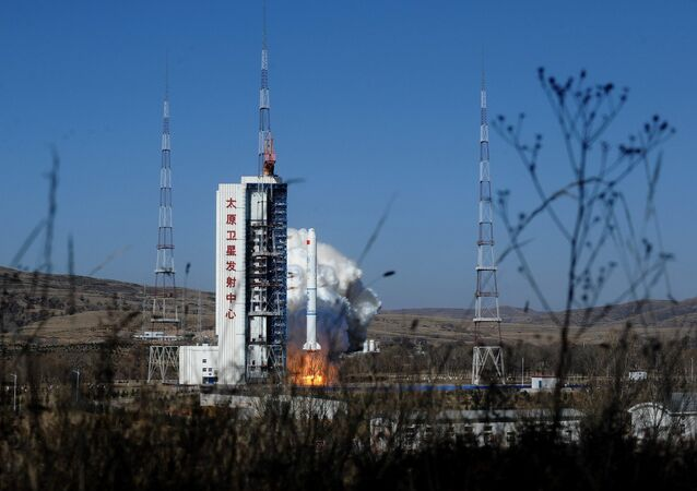 Long March 2C carrier rocket launch