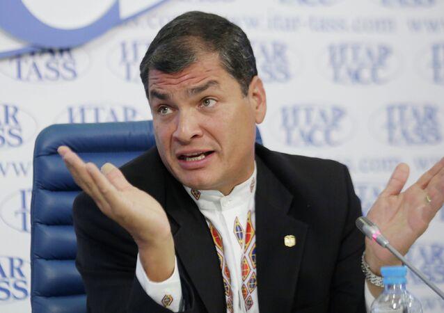 News conference by President of the Republic of Ecuador Rafael Correa