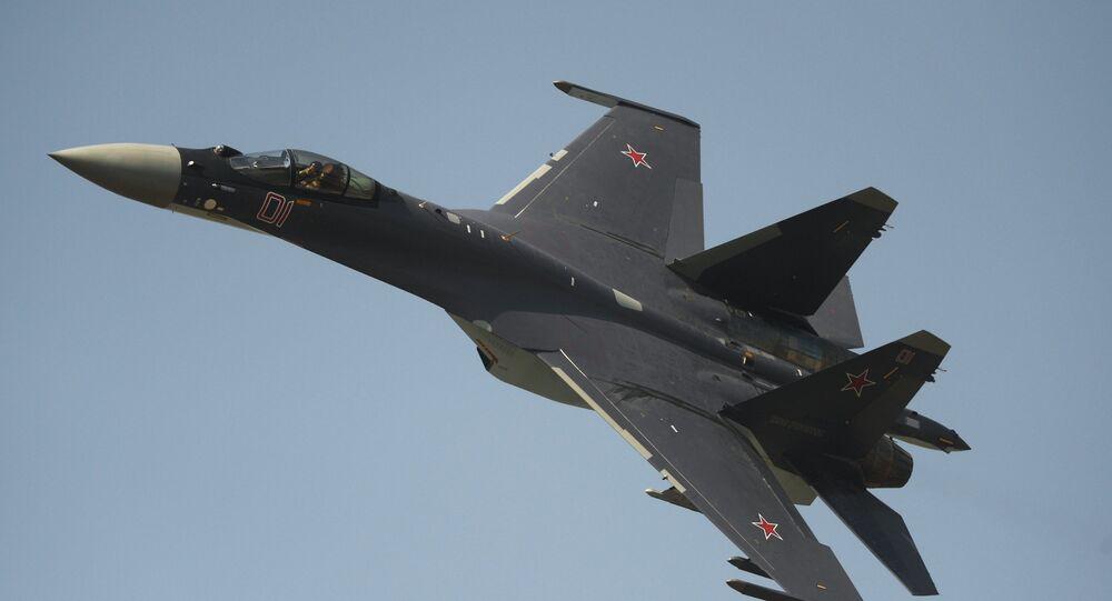 Sukhoi Su-35 (Flanker-E) supermaneuverable multirole fighter
