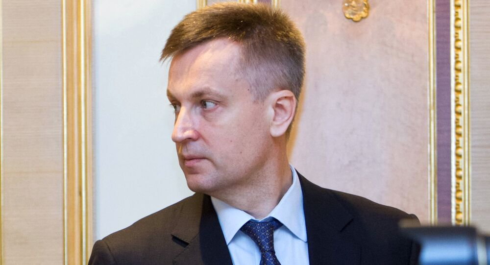 The head of Ukraine's security service, Valentyn Nalyvaichenko, cancelled his trip to Washington, DC.