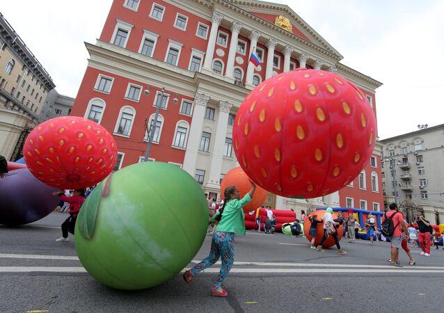 Праздник День Варенья в рамках фестиваля Московское варенье