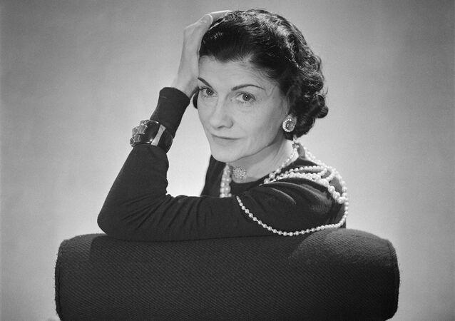 Coco Chanel, French fashion designer