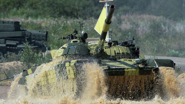 Tank Biathlon 2014 competition - Sputnik International