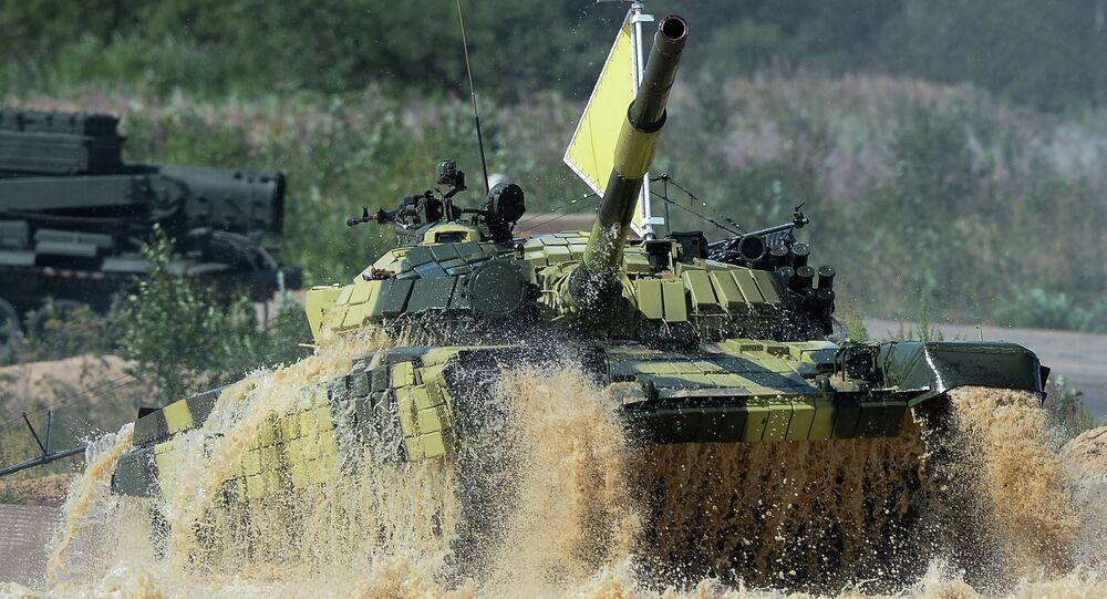 Tank Biathlon 2014 competition