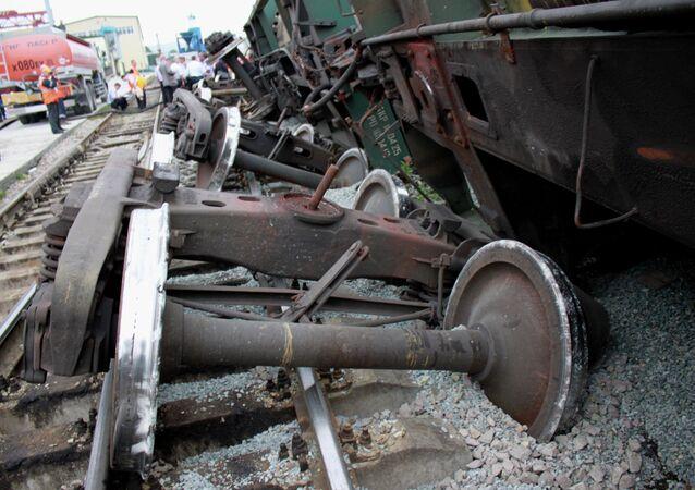 Petrol tanks overturn in Ussuriisk, Primorye Territory