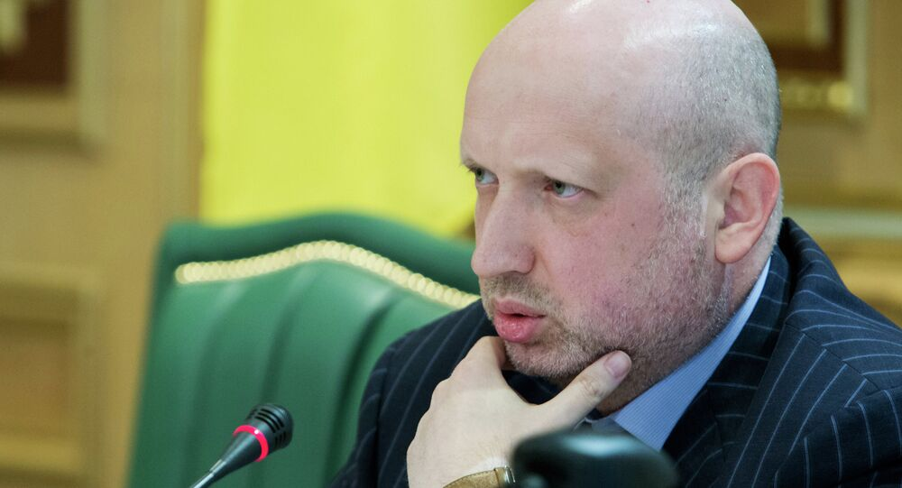 Oleksandr Turchynov holds meeting in Kiev with heads of regions
