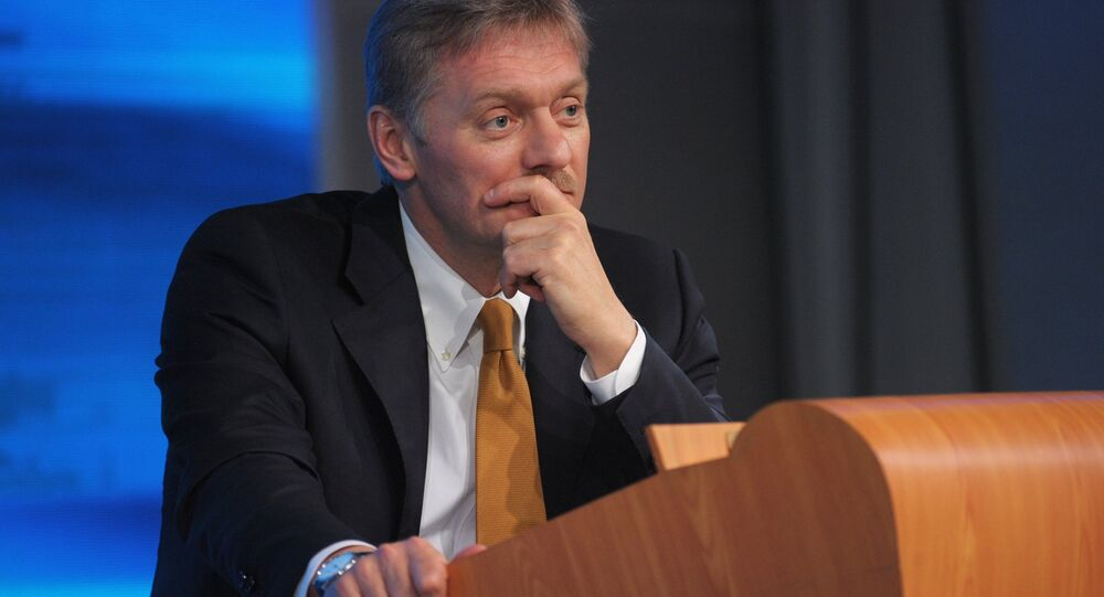 Russian Presidential Secretary Dmitri Peskov has officially denied a claim made by the press office of Ukraine's president, which stated that in the course of a recent telephone conversation in the Normandy Four format, President Vladimir Putin had proposed sending Russian peacekeepers to Donbass.
