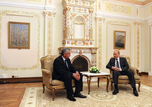 Vladimir Putin meets with new President of Abkhazia