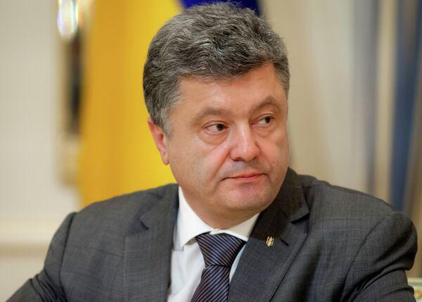 Встреча Петра Порошенко с представителями Верховной Рады - Sputnik International
