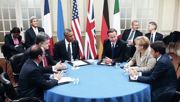 The NATO summit in Wales. - Sputnik International