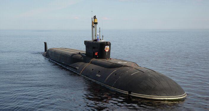 Russia's  Vladimir Monamakh nuclear submarine