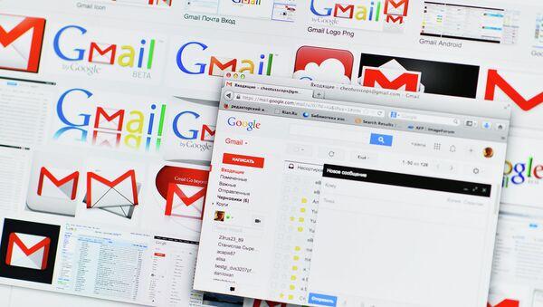 Google Russia's Gmail service - Sputnik International