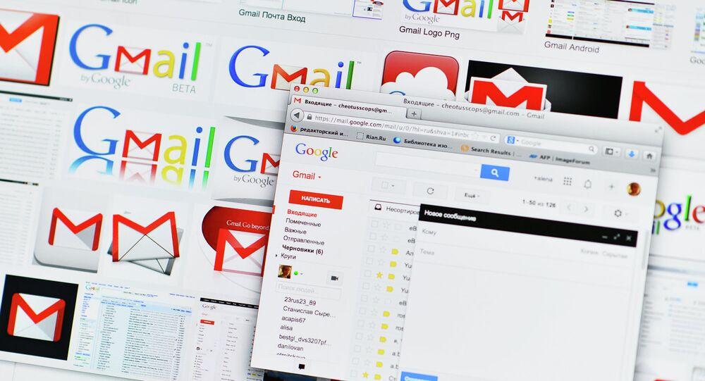 Google Russia's Gmail service