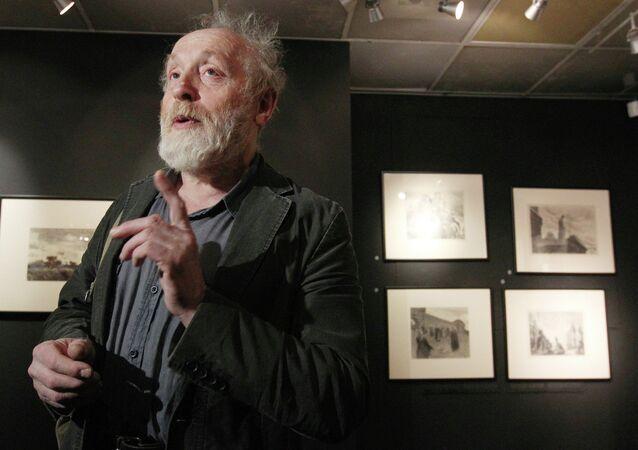 Открытие выставки Шварцман, который нарисовал Чебурашку