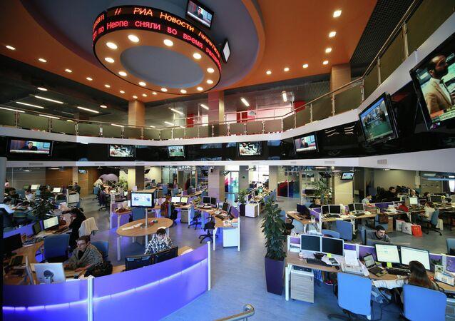 Ньюсрум Агентства экономической информации ПРАЙМ группы РИА Новости