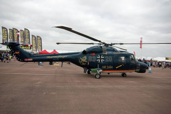 All 22 Sea Lynx Mk88A helicopters in the German Navy remain grounded. - Sputnik International