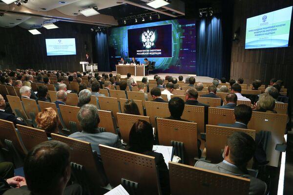 Meeting of the Russian Energy Ministry board. - Sputnik International