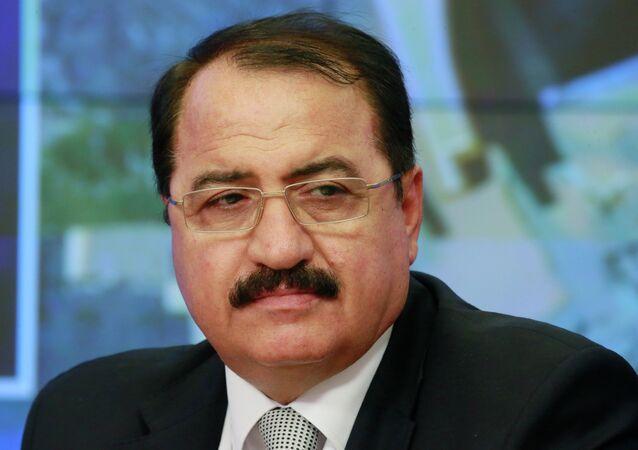 The Ambassador of the Syrian Arab Republic in Russia Riyad Haddad