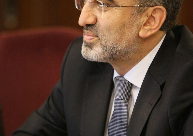 Der türkische Energieminister Taner Yıldız