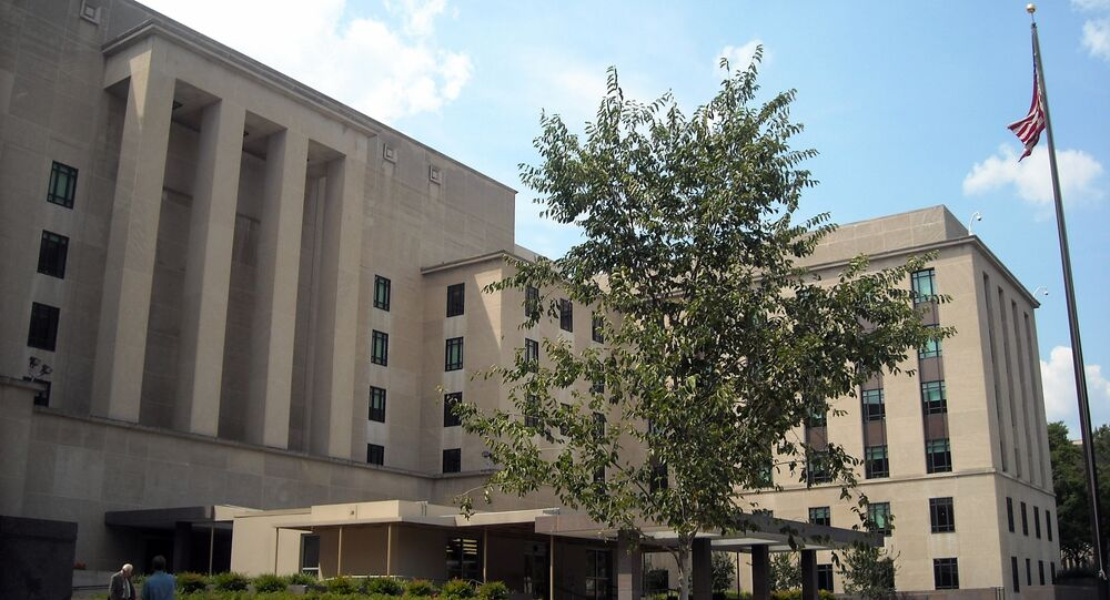 US State department headquarters (File)