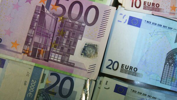 The euro sunk as much as 1.2 percent against the dollar to $1.1864 – its weakest level since March 2006 - Sputnik International
