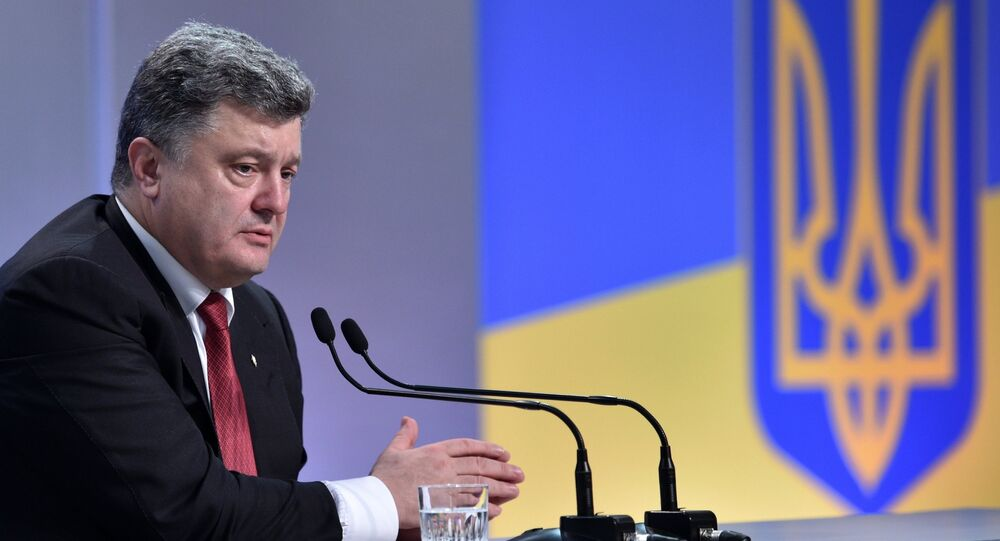 Petro Poroshenko asked the Constitutional Court of Ukraine to declare the ousting of former President Viktor Yanukovych unconstitutional because he is afraid to share Yanukovych's fate, Ukrainian politician Andriy Portnov said.