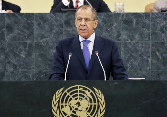 Sergey Lavrov addresses UN General Assembly