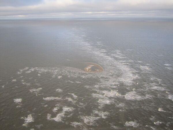 "Research vessel ""Admiral Vladimirsky"" of Russian Baltic Fleet proved Yaya island exists. - Sputnik International"