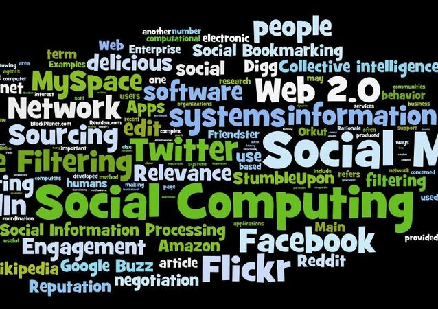 Another tag cloud from the wordle site around social computing, social media, social networks etc.