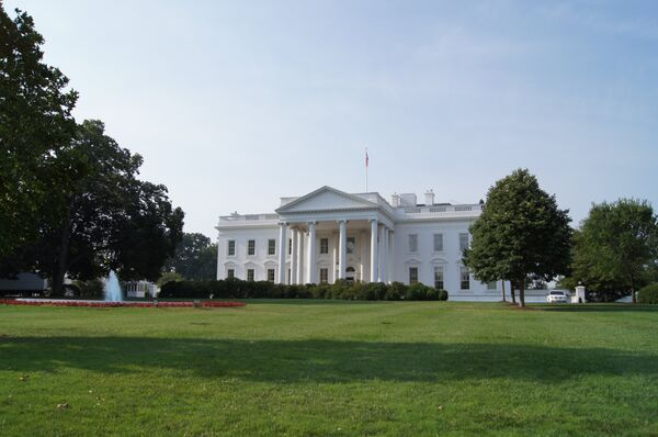Climbers' incidents have raised concerns about the security of the US President's residence. - Sputnik International
