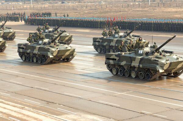 BMP-3 infantry fighting vehicles - Sputnik International
