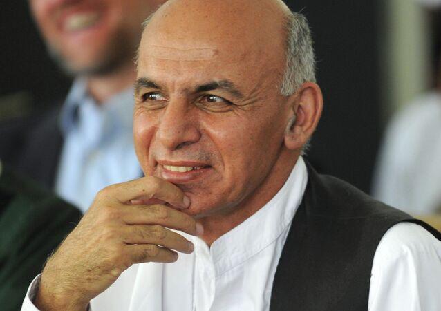 Афганский политический деятель Ашраф Гани Ахмадзай