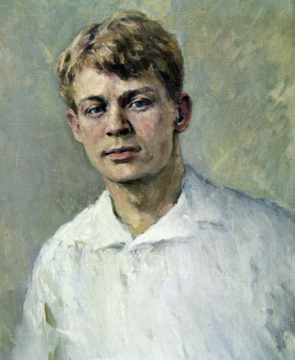 Portrait of Sergei Yesenin